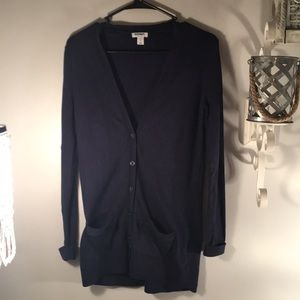 Old Navy long sleeve button down cardigan